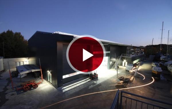 Bootswerft Winkler – Hallenbau